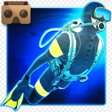 VR Diving Deep Sea Discovery App Icon