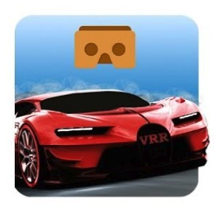 VR Racer Highway Traffic- 360 Google Cardboard App Logo